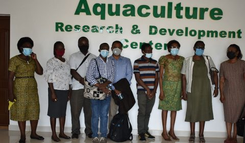 AU Safe Fish Project hosts African Union Dignitaries for monitoring and evaluation of its project proceedings
